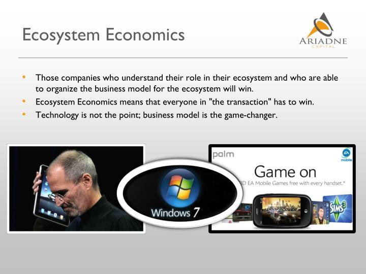 Ecosystem Economics