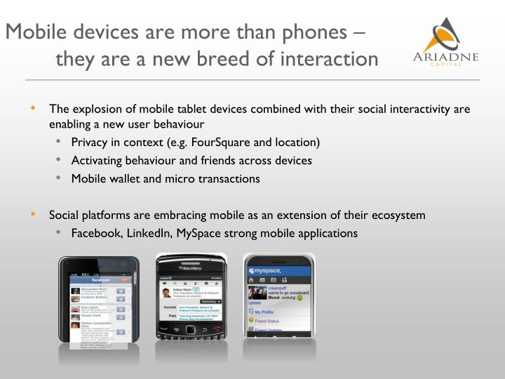 Mobile devices are more than phones –