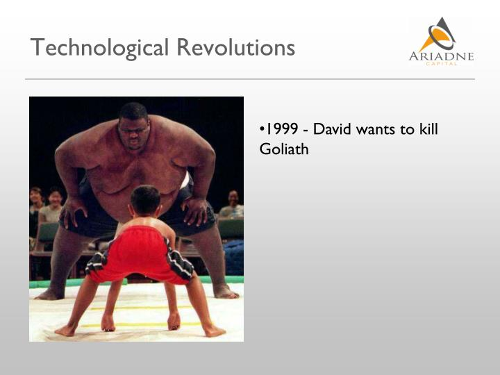 Technological Revolutions