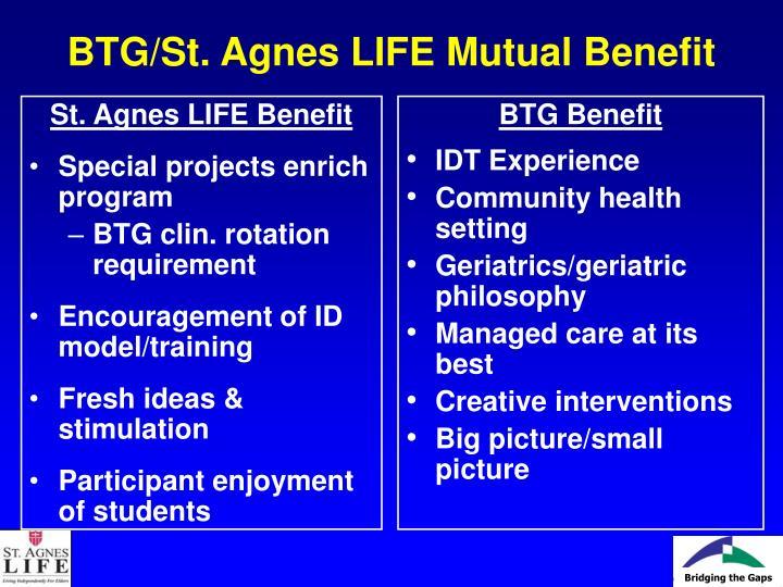 St. Agnes LIFE Benefit