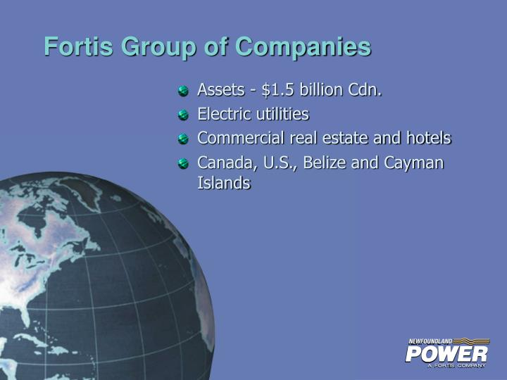 Fortis group of companies