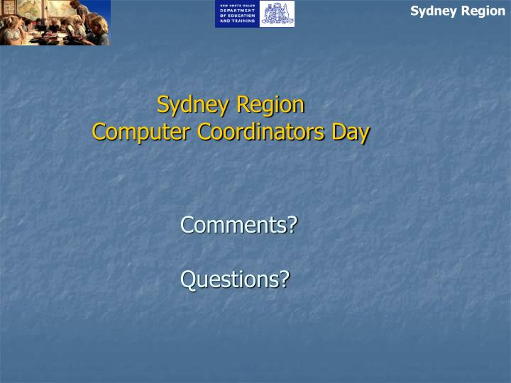 Sydney Region