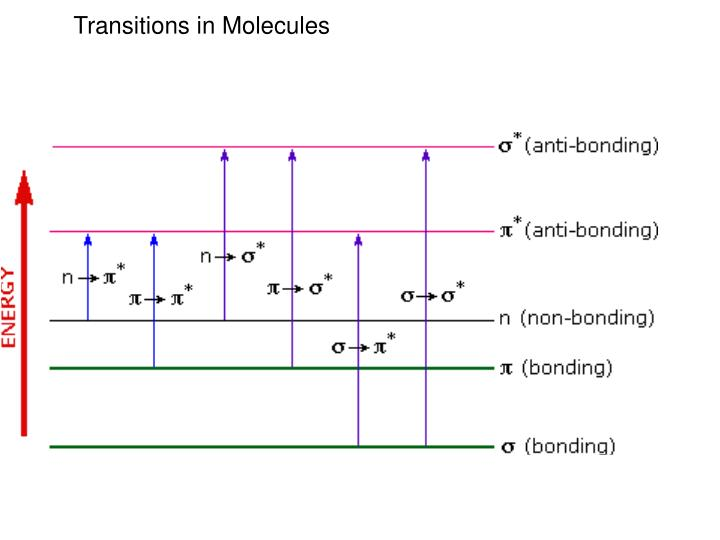 Transitions in Molecules