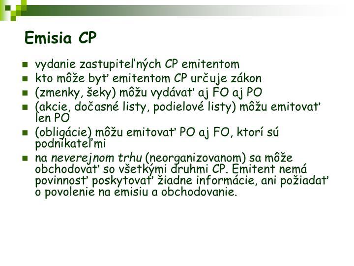 Emisia CP
