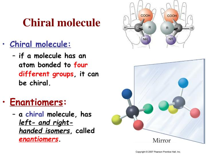 Chiral molecule