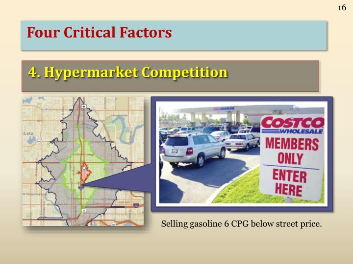 Four Critical Factors