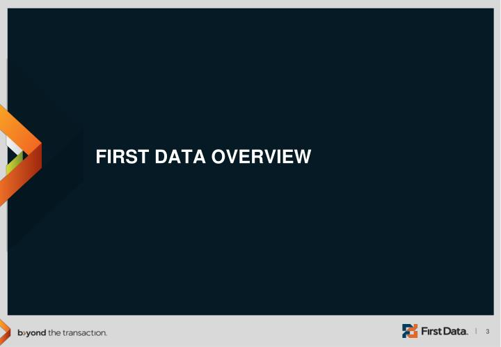 First data overview