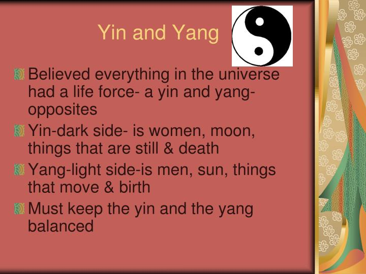 Ying Yang PowerPoint Template