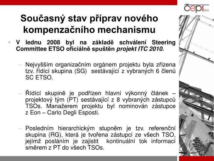 Současný stav příprav nového kompenzačního mechanismu