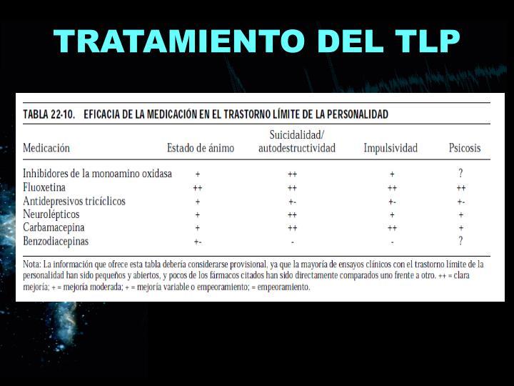 TRATAMIENTO DEL TLP