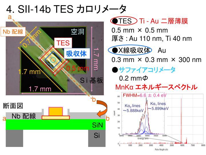 4. SII-14b TES