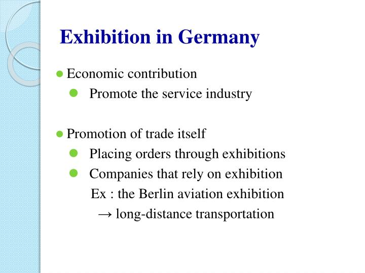 Exhibition in Germany