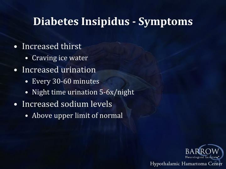 Diabetes Insipidus - Symptoms