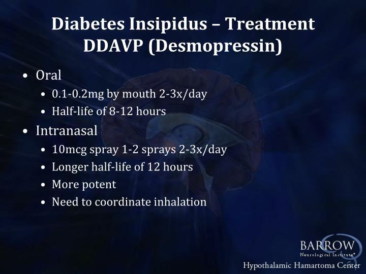 Diabetes Insipidus – Treatment