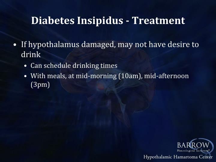Diabetes Insipidus - Treatment