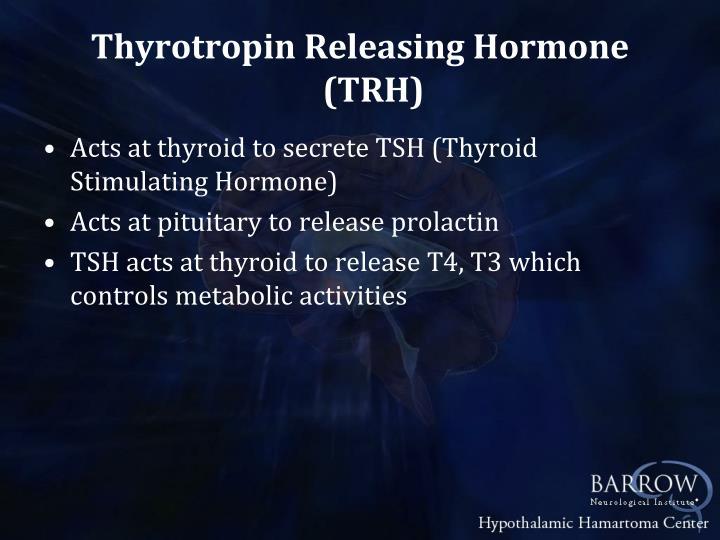 Thyrotropin Releasing Hormone (TRH)