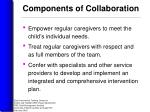 components of collaboration