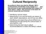 cultural reciprocity1