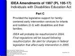idea amendments of 1997 pl 105 17 individuals with disabilities education act