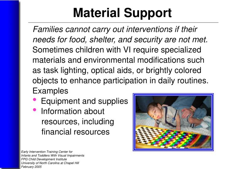 Families cannot carry out interventions if their