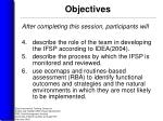 objectives8