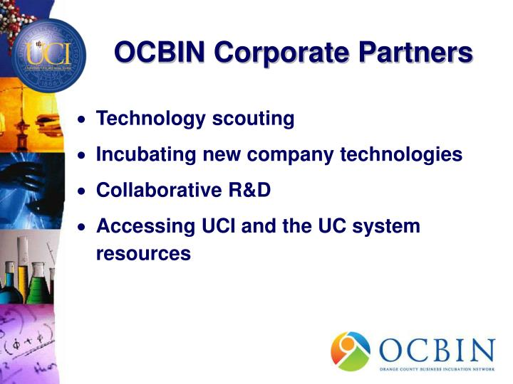 OCBIN Corporate Partners