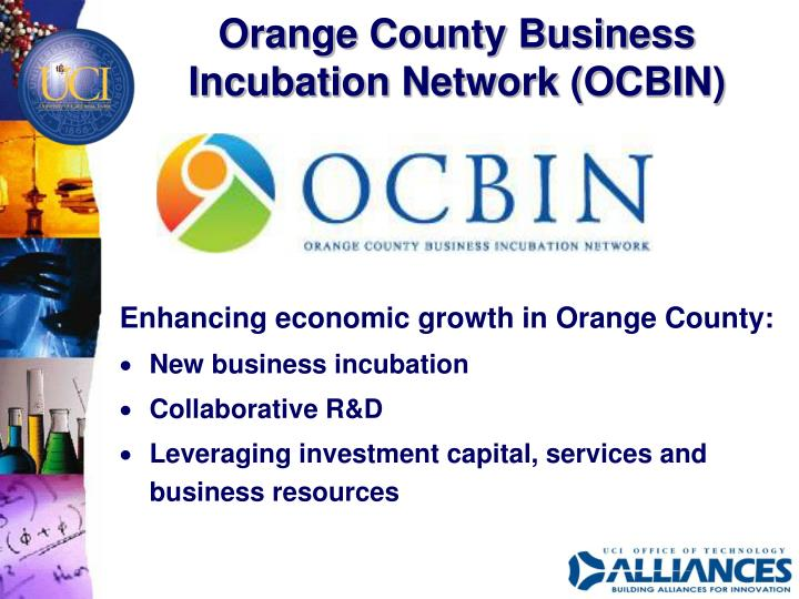 Orange County Business Incubation Network (OCBIN)