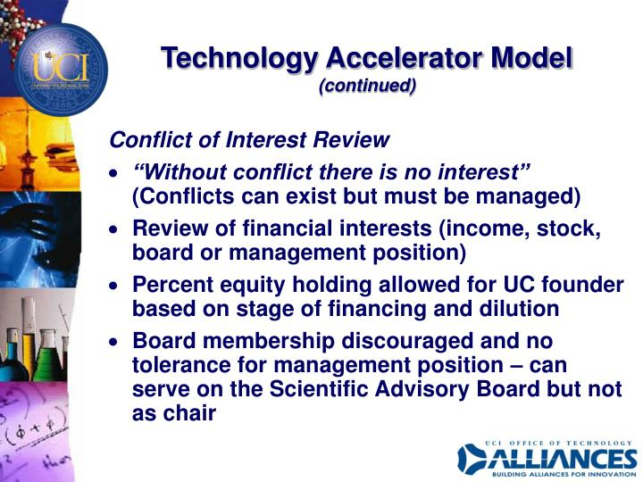 Technology Accelerator Model