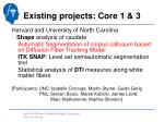 existing projects core 1 3