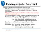 existing projects core 1 31