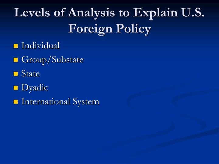 Overview malaysias foreign policy