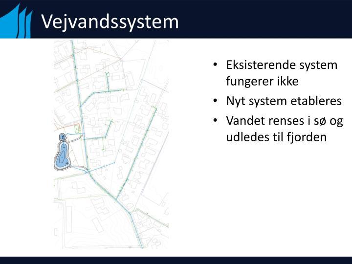 Vejvandssystem