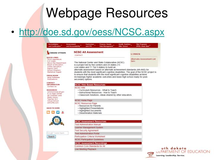 Webpage Resources