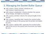 3 managing the socket buffer queue1