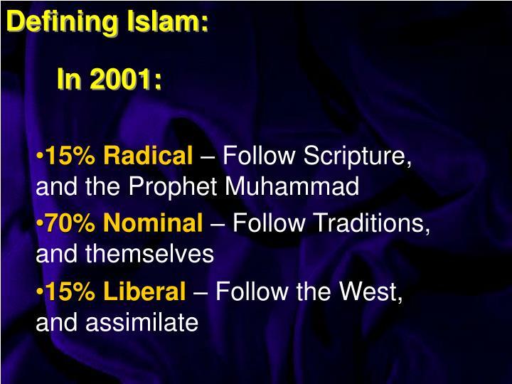 Defining Islam: