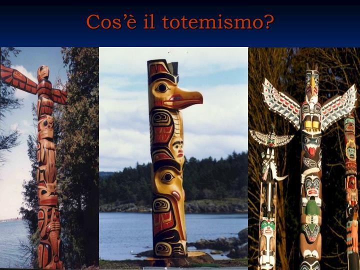 Cos'è il totemismo?