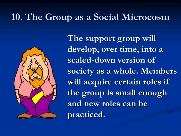 10. The Group as a Social Microcosm