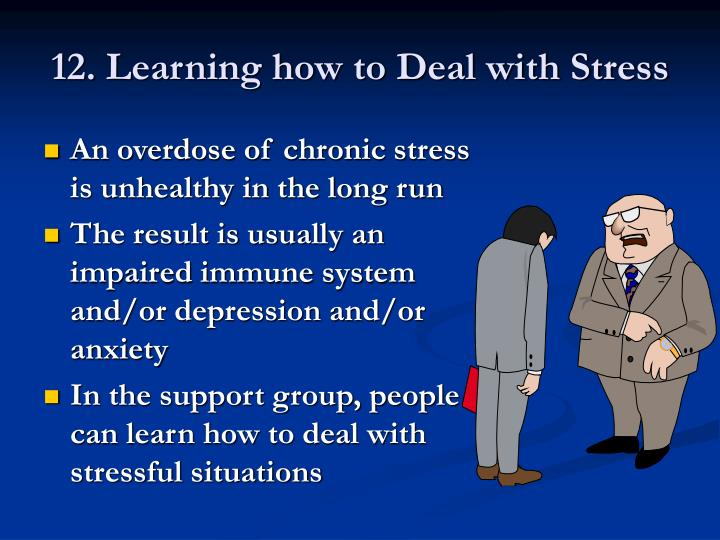 12. Learning how to Deal with Stress