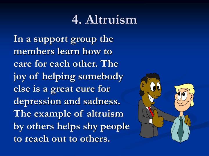 4. Altruism