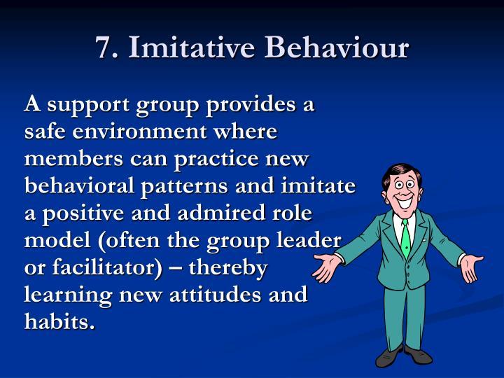 7. Imitative Behaviour
