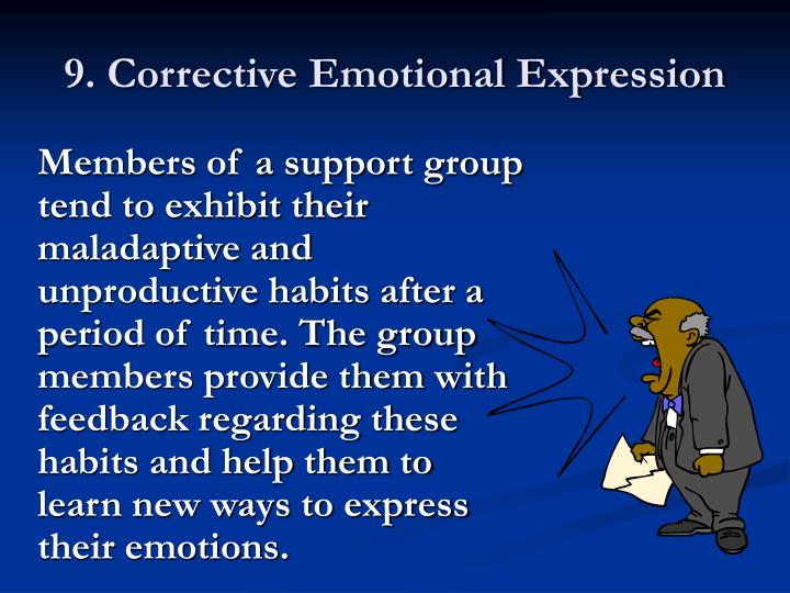 9. Corrective Emotional Expression