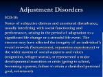 adjustment disorders1