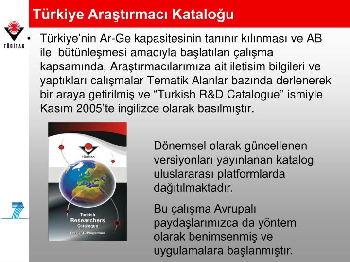 Türkiye Araştırmacı Kataloğu