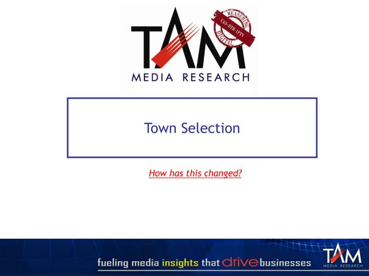 Town Selection