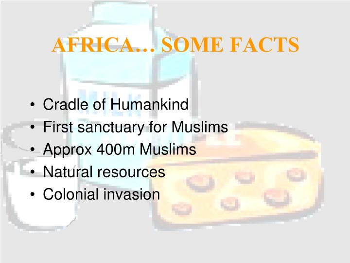 AFRICA… SOME FACTS