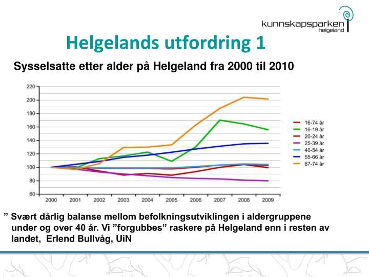Helgelands utfordring 1
