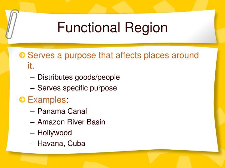 Functional Region