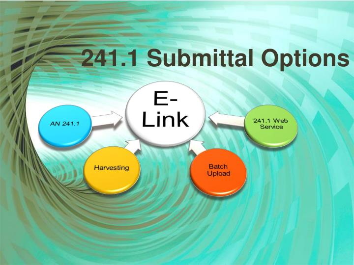 241.1 Submittal Options