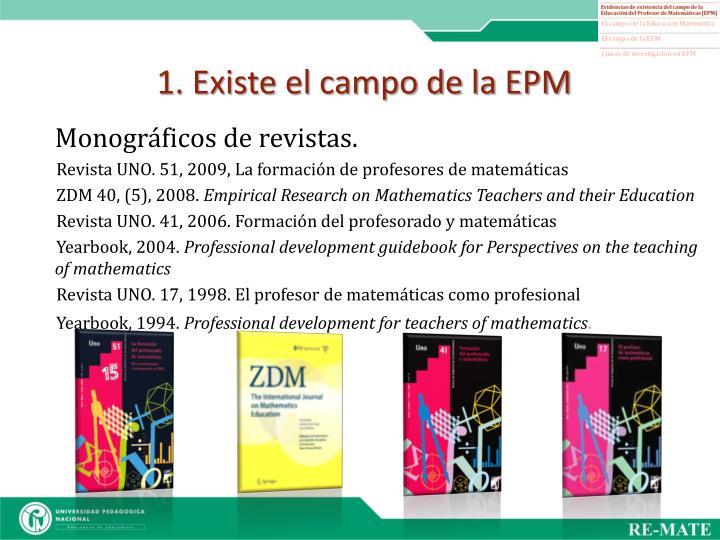 1. Existe el campo de la EPM