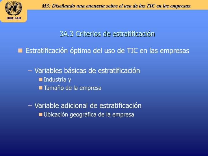 3A.3 Criterios de estratificación
